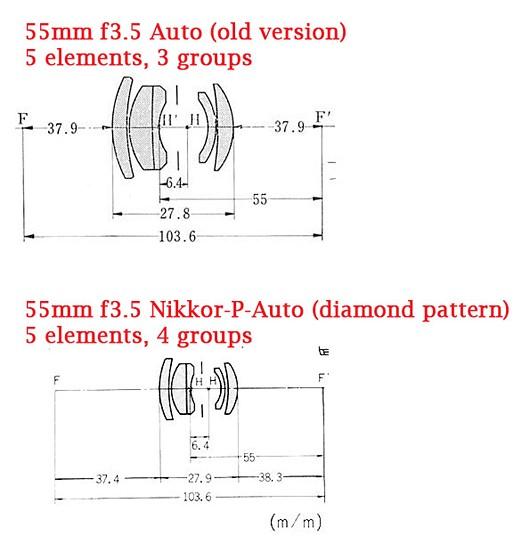GENUINE ORIGINAL NIKON INSTRUCTION MANUAL MICRO NIKKOR P AUTO 55MM F//3.5